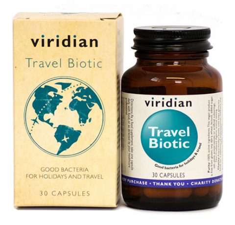 Probiotiki Viridian za na pot