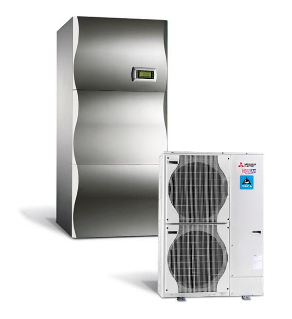 Visokotemperaturna ogrevalna toplotna črpalka Orca Duo 200